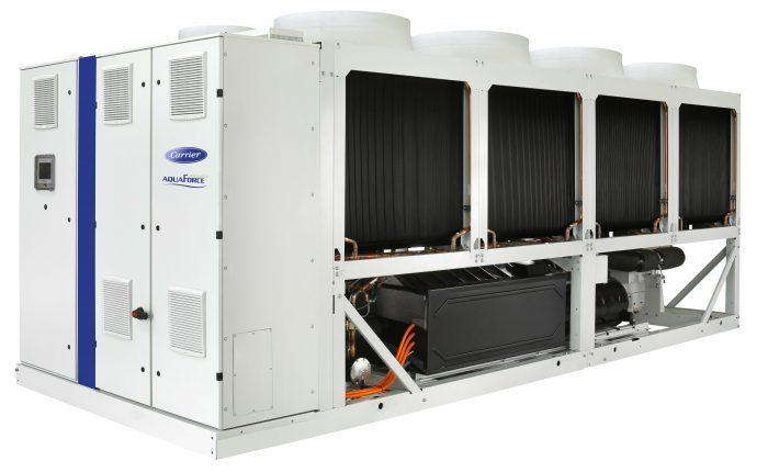 carrier kompakt folyadékhűtő